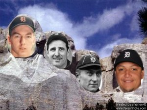 tigers mount rushmore