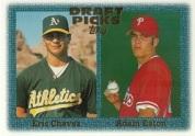 1997 topps eric chavez