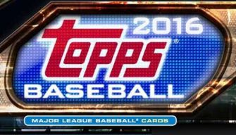 2016 topps box