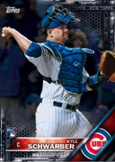 2016-Topps-Series-1-Baseball-Schwarber-RC-Black-Parallel