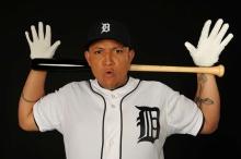 MLB Baseball:  Portrait of Detroit Tigers Miguel CabreraPortraitTYE Studio/Fort Lauderdale, FL, USA2/12/2013X156146 TK1Credit: Heinz Kluetmeier